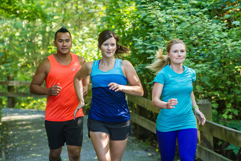 Both beginners and marathoners are welcome at Kintec run club (Kintec)