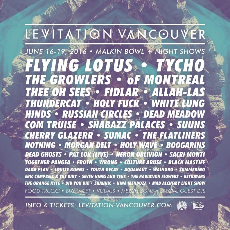 Image: Levitation Vancouver