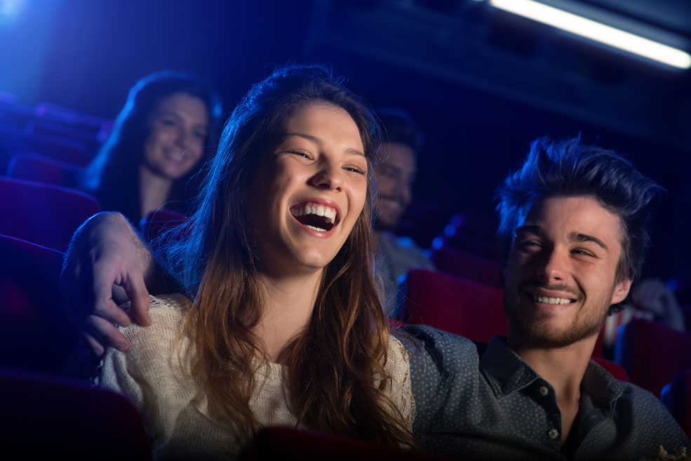 Get yourself to a comedy club and laugh away those study blues (Stock-Asso/Shutterstock)