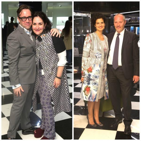 Prada launch guests