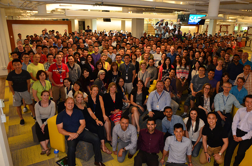 SAP'S already 1,200-strong team in Yaletown will grow by another 130 employees by the end of 2016. (SAP)