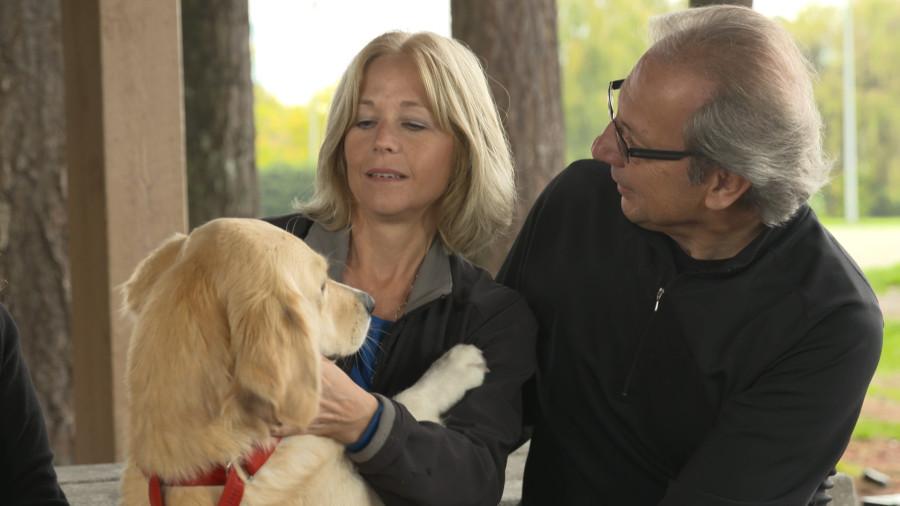 Roberta and Randy Andrus with Jessa.