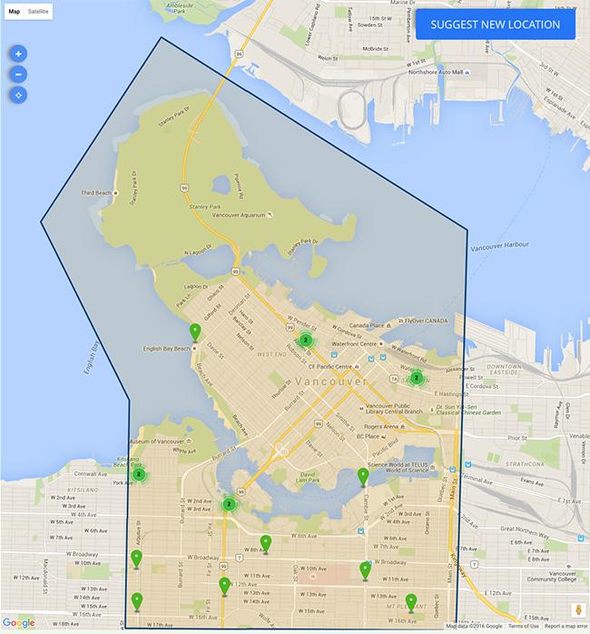 Image: Vancouver Bike Share
