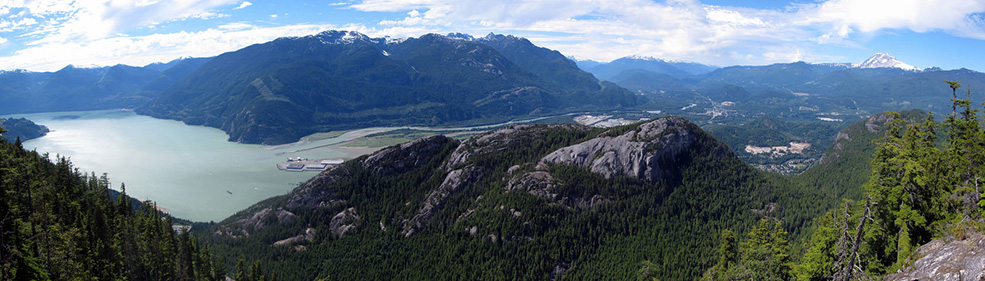 A hike up The Chief - that imposing granite monolith - is tough but rewarding (Christopher Porter/Flickr)
