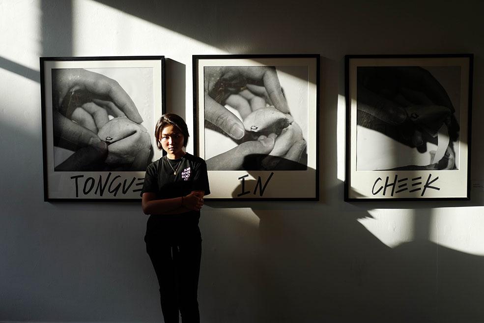 Teenage artist Dorothy Zhang (SBAAB)