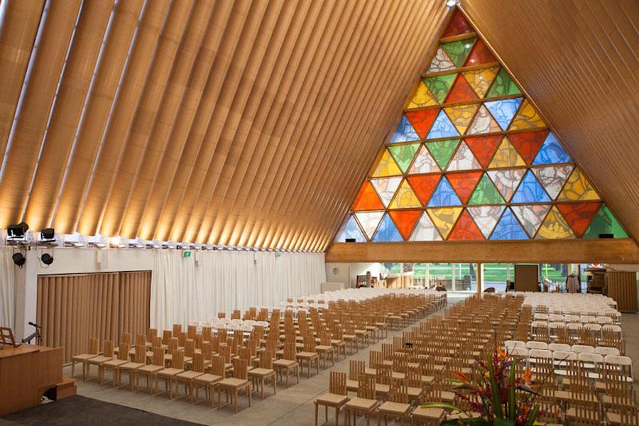 Image: Bridgit Anderson / Shigeru Ban Architects