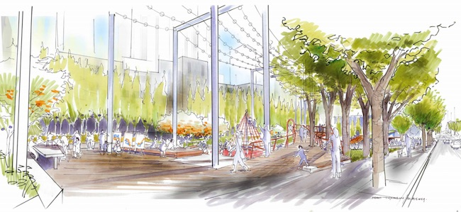 Rendering courtesy Dialog/Vancouver Board of Parks and Recreation