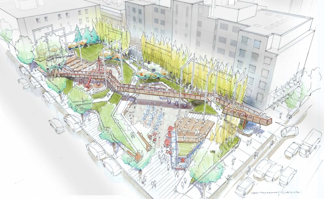 Rendering courtesy Dialog/City of Vancouver