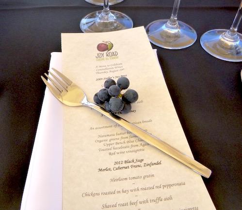 Joy Road in the vineyard at Black Sage (Lindsay William-Ross/Vancity Buzz)