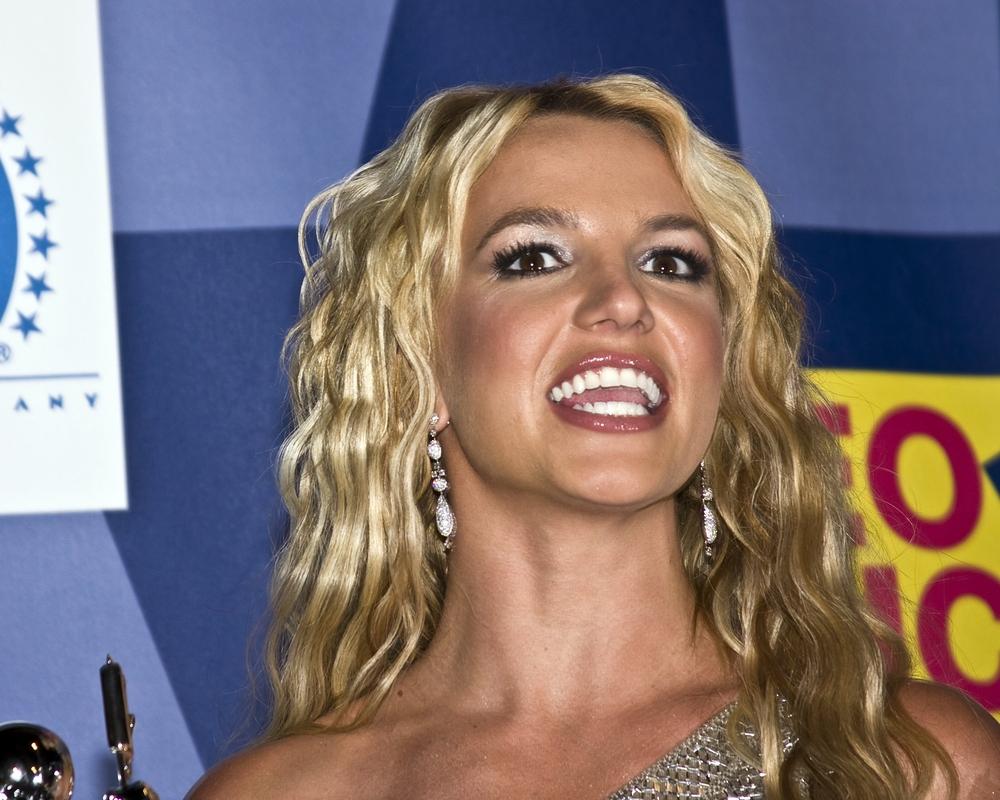Britney Spears speaking / Shutterstock