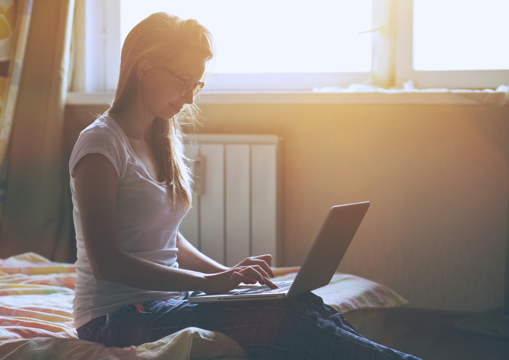 Working at home / Shutterstock