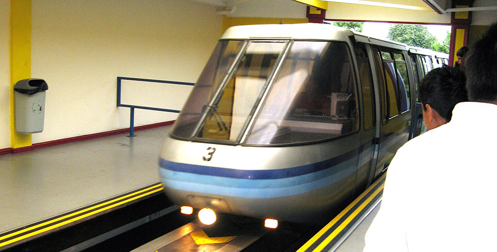 The Expo 86 Monorail, now at Alton Towers amusement park in the UK (aunt agatha/Flickr)
