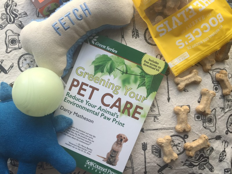 Greening Your Pet Care, out May 3, is available on Amazon and major retailers.
