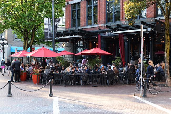 Chill Winston's patio (Jess Fleming / Vancity Buzz)