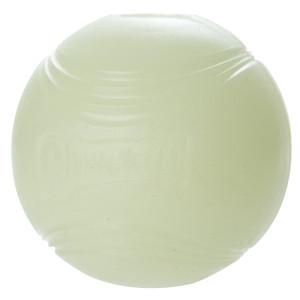 Chuckit! Max Glow ball, from PetSmart.