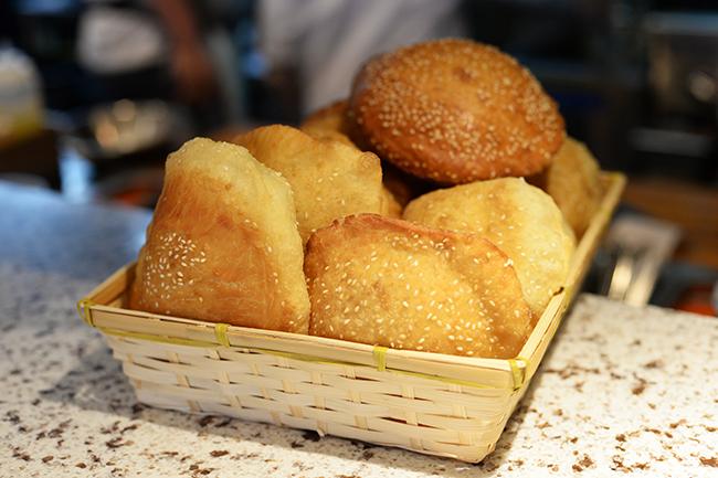 Freshly baked fry bread (Jess Fleming / Vancity Buzz)