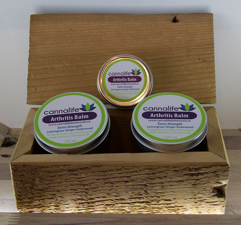 Arthritis balm soon to be for sale at the Wealth Shop (Jenni Sheppard)