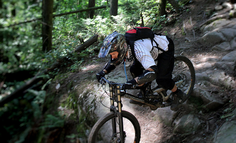 Mountain biking on Mount Seymour (gloogun/Flickr)
