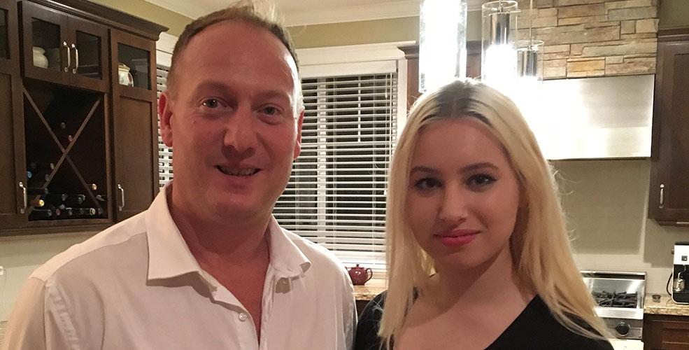 Sean Nosek with daughter Ali now (Sean Nosek)