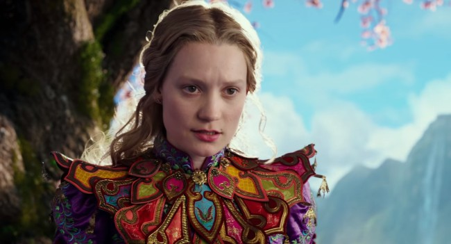 Mia Wasikowska as Alice. Image: Disney