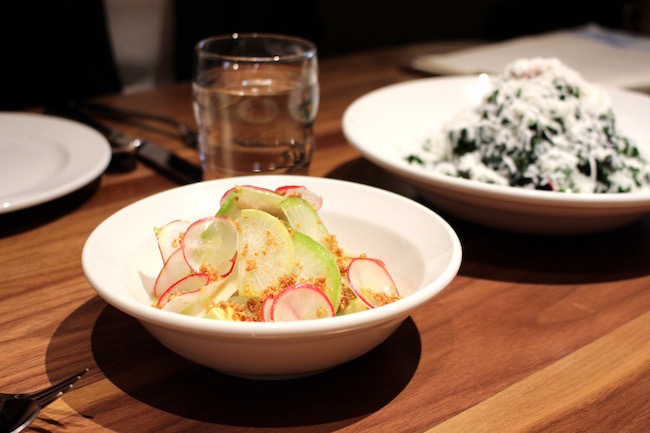 Ceviche, Kale Salad (Lindsay William-Ross/Vancity Buzz)