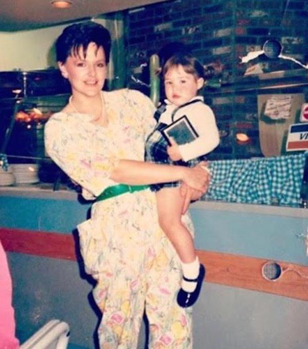 Patti Lombardo with eldest daughter, Elizabeth, in 1986 (Photo courtesy Patti Lombardo)
