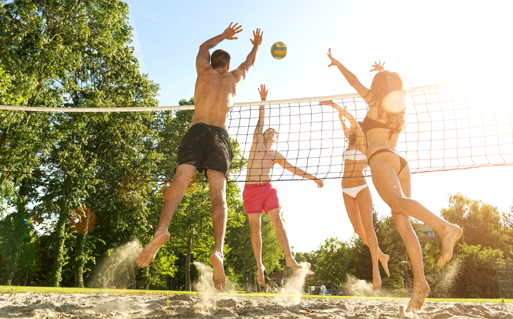Volleyball / Shutterstock