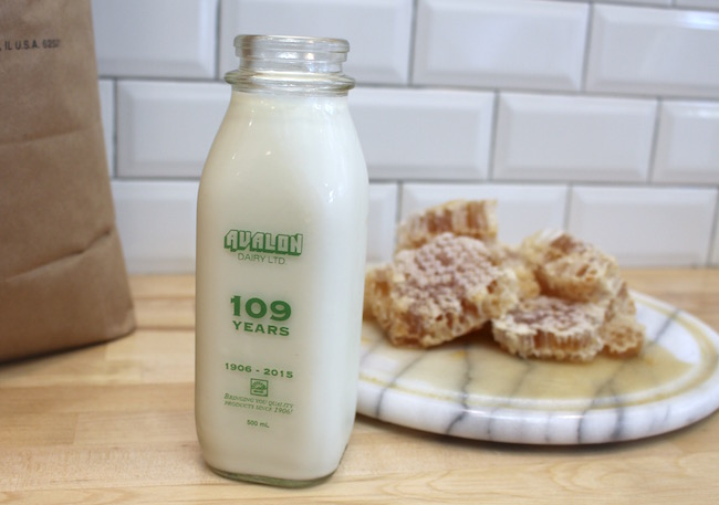 It all starts with organic Avalon milk (Lindsay William-Ross/Vancity Buzz)