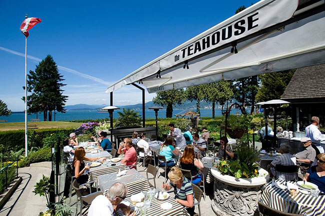 The Teahouse in Stanley Park / Facebook